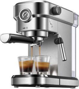 Yabano Espresso Machine, Compact Espresso Maker