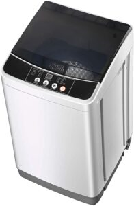 Jeerbly Portable Washing Machine with Spin Dryer, 10lbs