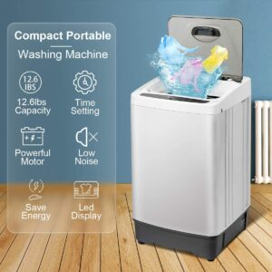 INTERGREAT Portable Washing Machine 1.55 Cu.ft