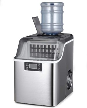 Northair Countertop Ice Maker 1 Gallon Square Ice 45lbs