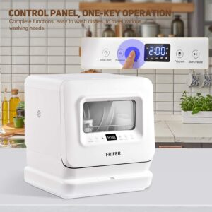 frifer portable dishwasher display panel