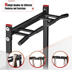 sportsroyals power tower pull up dip station handles