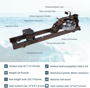 Aihoye Water Rowing Machine Features