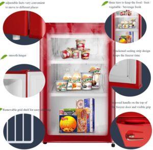 SWHOME Mini Upright Freezer 3.0 cu.ft.