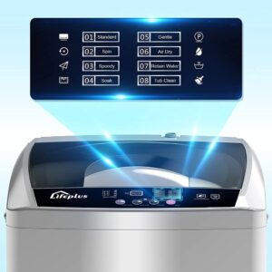 LifePlus 1.8 cu.ft. Portable Washing Machine with 8 Wash Programs