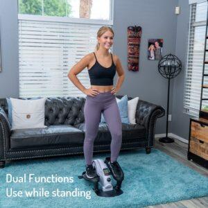 yyfitt under desk mini elliptical trainer